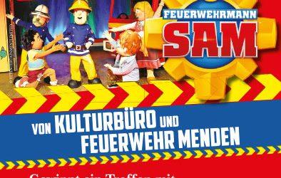Gewinnspiel: Trefft Feuerwehrmann SAM und besucht unsere Feuerwache!