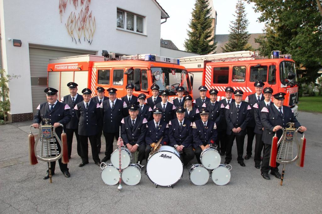 Spielmannszug der Feuerwehr Menden, Löschgruppen Bösperde