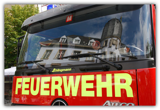 Fahrzeug der Feuerwehr Menden (Sauerland)