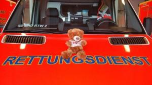 Rettungs-Teddy der Feuerwehr Menden