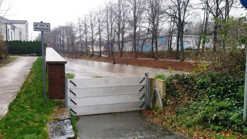 Hochwasserschutz in Menden