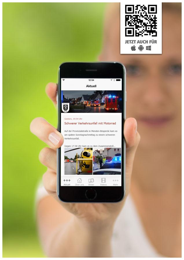 Banner Smartphone-App