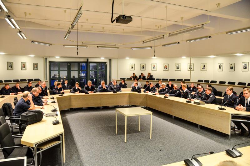 Die Jahresdienstbesprechung fand wieder im Ratssaal der Stadt Menden statt.