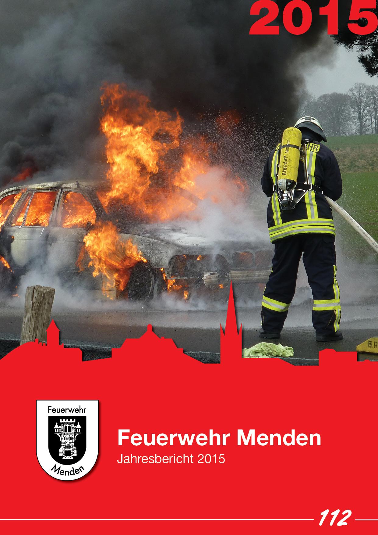 Jahresbericht 2015 der Feuerwehr Menden