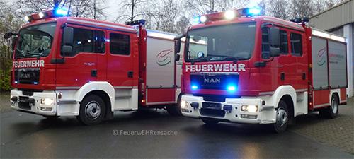 Zwei der drei MLFs, die im Rahmen des Projektes FeuerwEhrensache konzipiert und gebaut wurden.