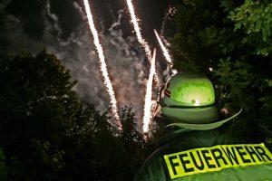 Brandsicherheitswache Feuerwerk Pfingstkirmes