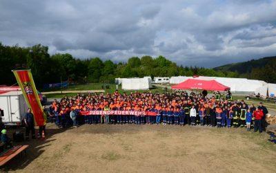 Pfingst-Zeltlager der Jugendfeuerwehr