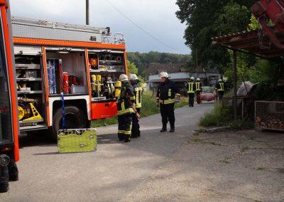 Übung: Bauernhofbrand in Halingen