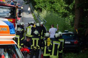 Verkehrsunfall Provinzialstraße