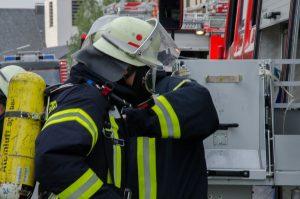 Alarmübung Löschzug Nord bei Firma GEFI in Bösperde