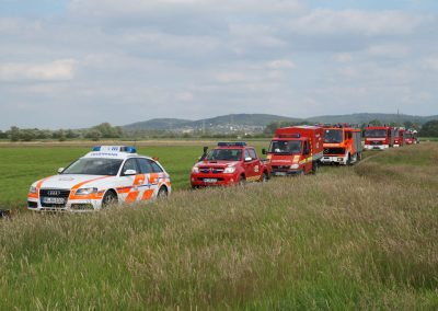 Gemeinsame Übung der Feuerwehren Balve und Menden