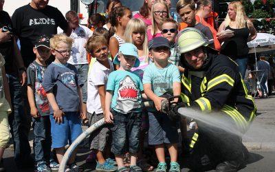 Traditionelles Feuerwehrfest in Bösperde am 1. August-Wochenende