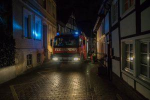 Gemeldeter Zimmerbrand in der Altstadt