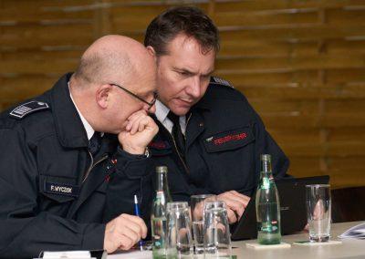Frank Wyzcisk und Wolfram Semrau.