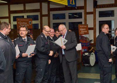 Bürgermeister Martin Wächter nahm die Ehrungen vor.