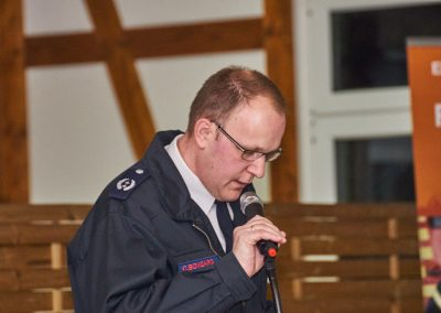 Stadtbrandinspektor Christian Bongard, Leiter der Feuerwehr Menden