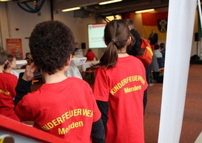 Empfang der Stadt Menden in der Feuer- und Rettungswache.