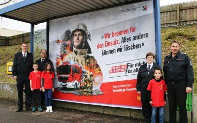 Kampagne für den Dienst in der Feuerwehr: Jetzt mitmachen!