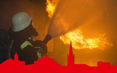 Jahresbericht der Feuerwehr für 2016