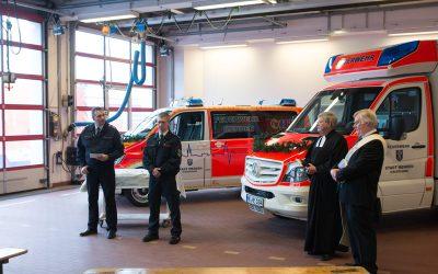 Neue Einsatzfahrzeuge für den Rettungsdienst der Feuerwehr Menden