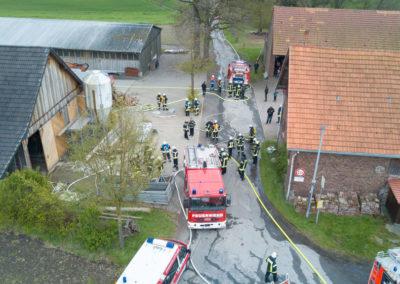 Zugübung Nord in Werringsen