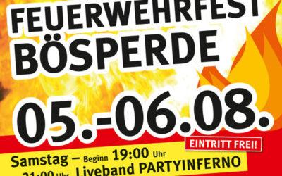 Action, Spaß und Information bei der Feuerwehr Menden-Bösperde: Tag der offenen Tür am 1. August-Wochenende