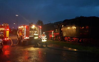 Dampflok macht Station in Menden