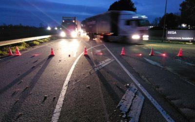 Verkehrsunfall zwischen Bösperde und Halingen