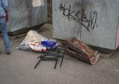Viel Müll musste eingesammelt werden