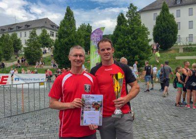 Holten sich erneut den Gesamtsieg: Axel Stüken (li.) und Manuel Hermanns