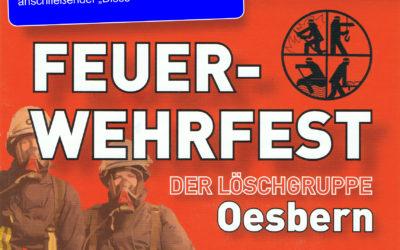 Feuerwehrfest der Löschgruppe Oesbern