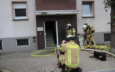 Küchenbrand in der Bischof-Henninghaus-Straße