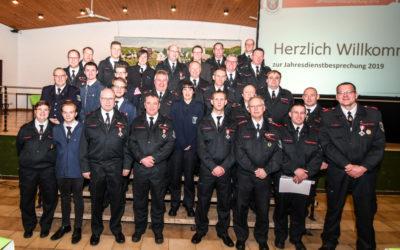 Stadtjahresdienstbesprechung Feuerwehr Menden