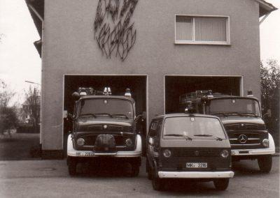 Gerätehaus Bösperde 1984