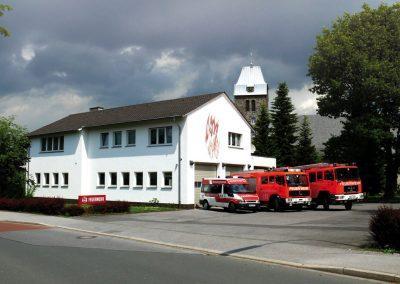Gerätehaus Bösperde 2009