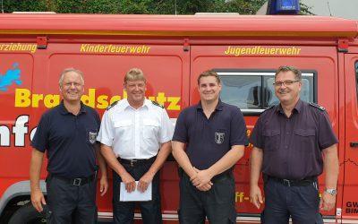 Verabschiedung nach 44 Dienstjahren in der Feuerwehr