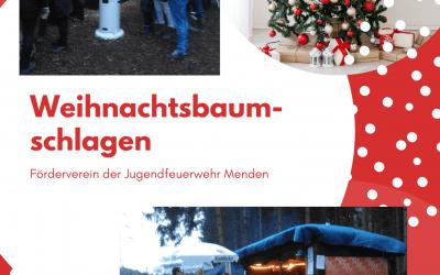 Weihnachtsbaumschlagen mit der Jugendfeuerwehr