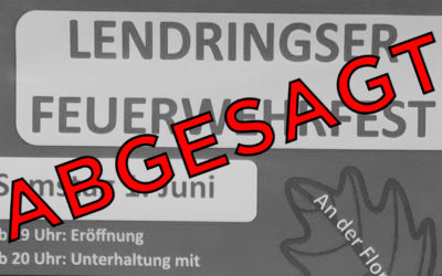 Absage: Tag der offenen Tür der Löschgruppen Lendringsen