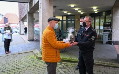 Feuerwehr verabschiedet sich von Sebastian Arlt