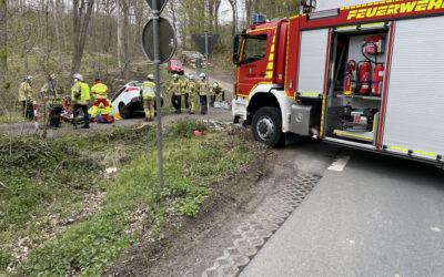 Verkehrsunfall am Oesberner Weg – eine verletzte Person